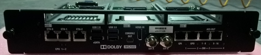 Cinema_Dolby IMS2000